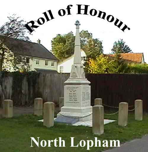 NORTH LOPHAM ROLL OF HONOUR