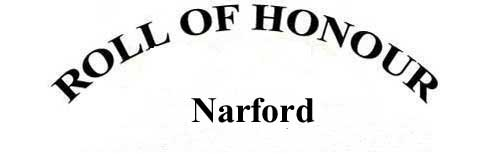 NARFORD ROLL OF HONOUR