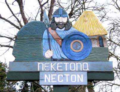 Necton Village Sign