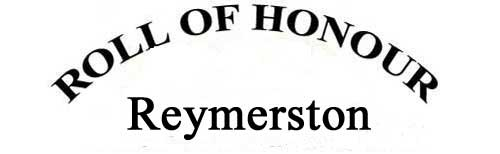 REYMERSTON ROLL OF HONOUR