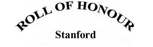 STANFORD ROLL OF HONOUR