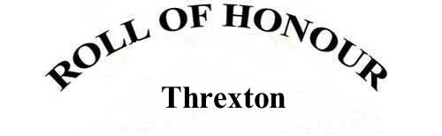 THREXTON ROLL OF HONOUR